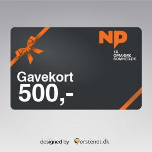 np-gavekort